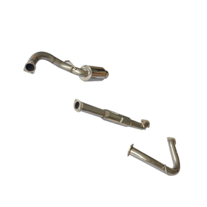 Cat Back Exhaust ~ Eclipse 6CYL 00 ~ 05 Acero inoxidable 201 Sistema de escape pulido espejo
